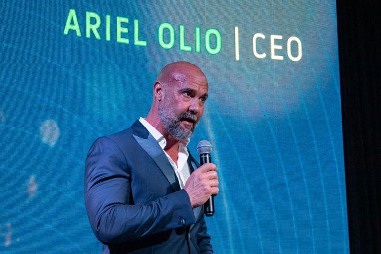 Ariel Olio, uno de los dueños del grupo agroindustrial