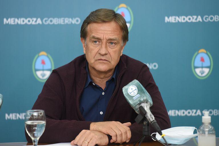 El gobernador de Mendoza se pronunció sobre el conflicto político en el Gobierno