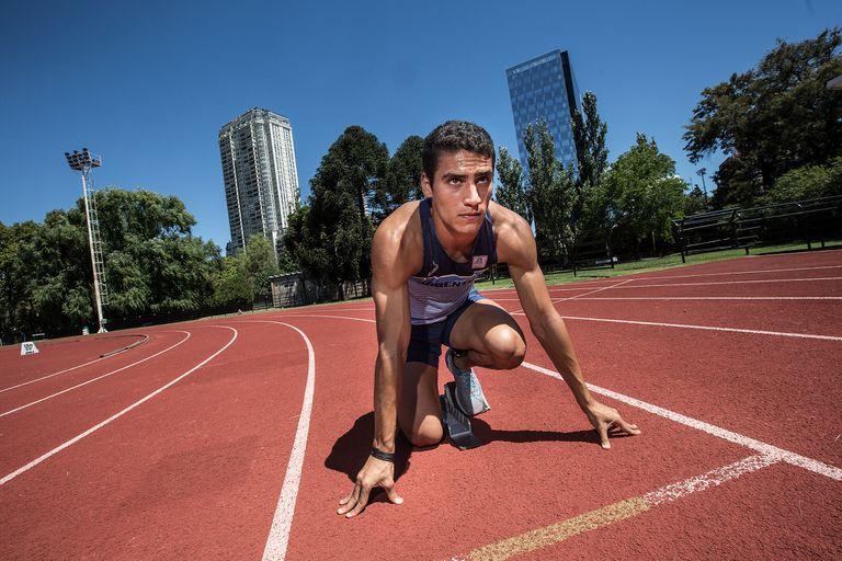 Entrevista con el atleta Franco Florio en el Cenard.