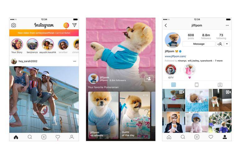 Más que una extensión de Stories, IGTV es una aplicación que mantiene la comunidad de Instagram y hace foco en la producción de video en formato vertical