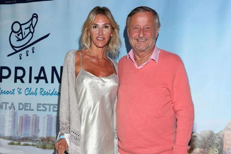 Cristiano Rattazzi y Gabriela Castellani dieron el presente en la fiesta de Cipriani