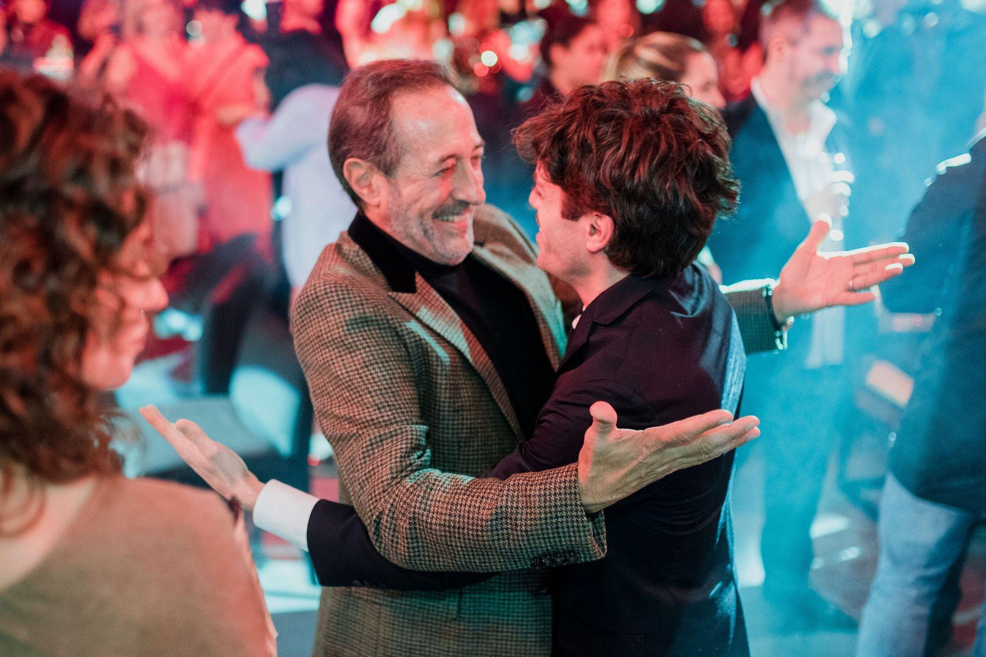Guillermo Francella y Federico Salles, parte del elenco de ATAV, el éxito actual de Polka para eltrece