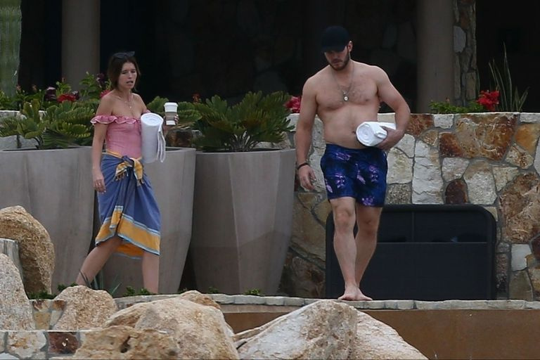 Las vacaciones familiares de Chris Pratt y Katherine Schwarzenegger en México