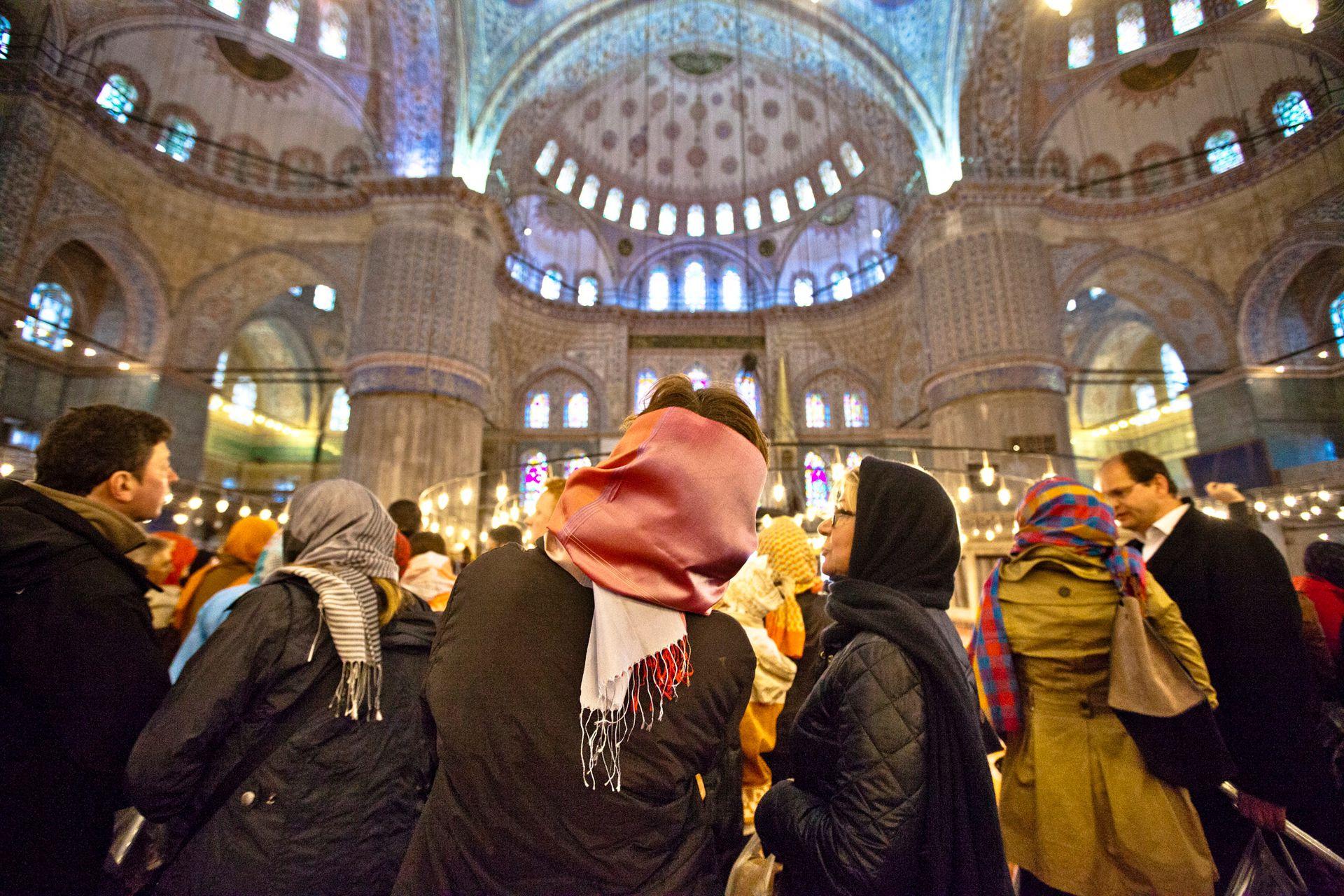 La Mezquita Suleiman en Estambul.