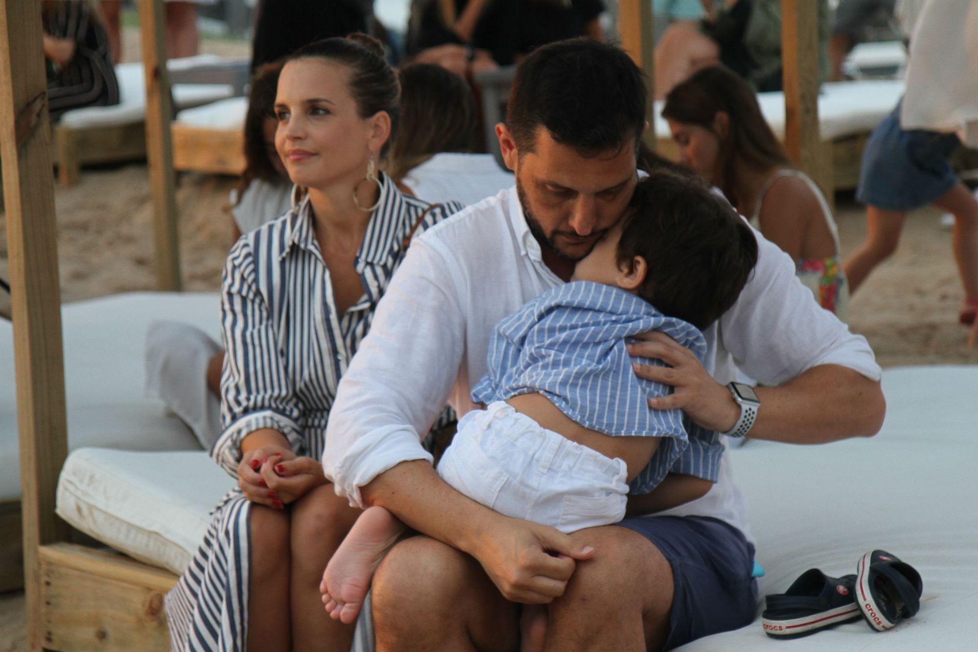 Sabrina Garciarena, Germán Paoloski y unas vacaciones familiares