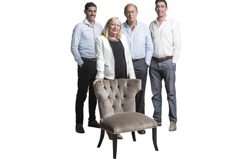 La familia argentina que hace muebles de alta gama y exporta, de Soldati a Miami