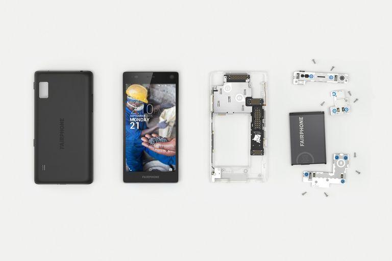 El Fairphone 2 se puede desarmar casi por completo