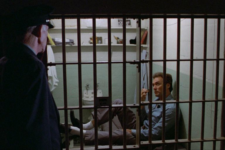 Fuga de Alcatraz (1979), con Clint Eastwood a las órdenes de Don Siegel