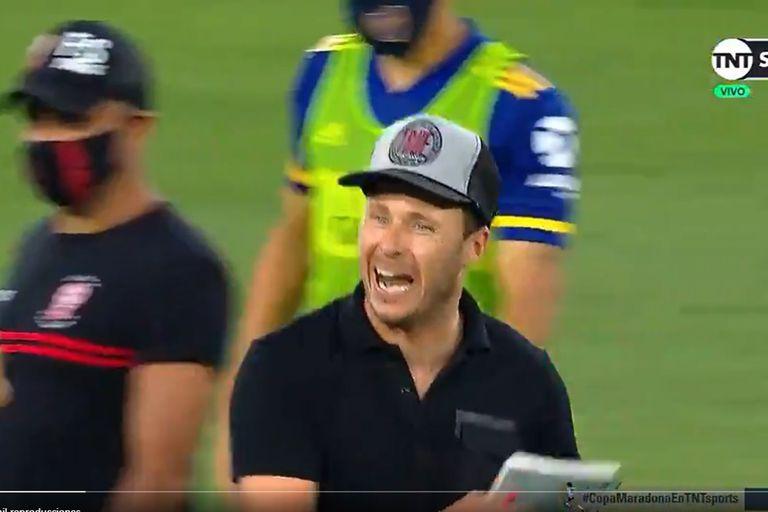 ¿Tiene razón? La furia de Damonte con el árbitro de Boca-Huracán: las polémicas