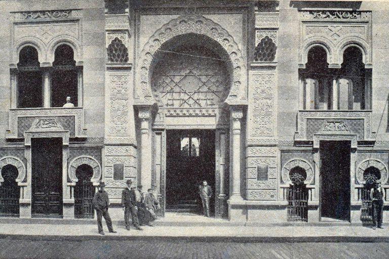 El Palacio Árabe, obra del arquitecto español Antonio Menéndez