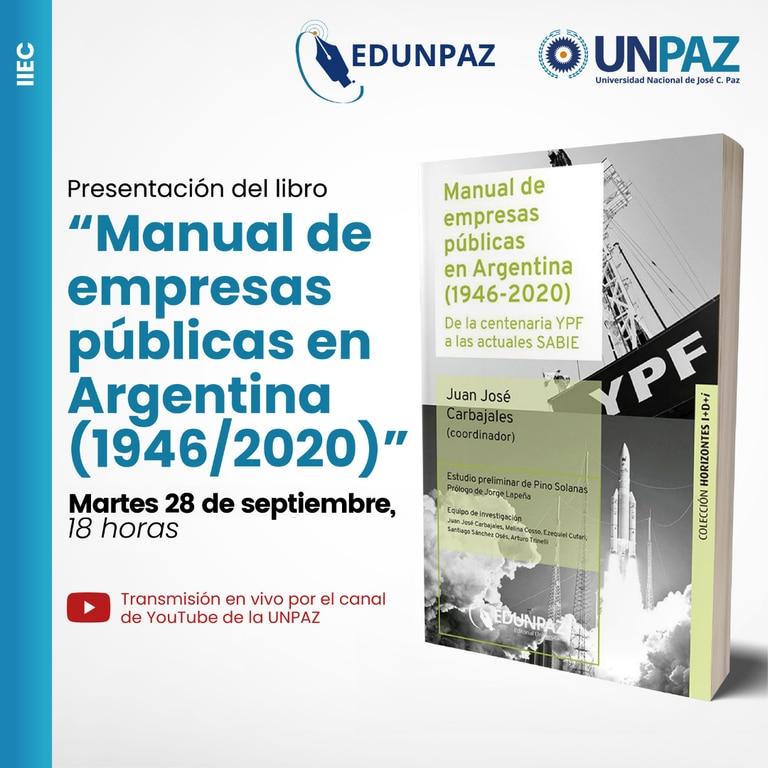 Manual de empresas públicas en Argentina