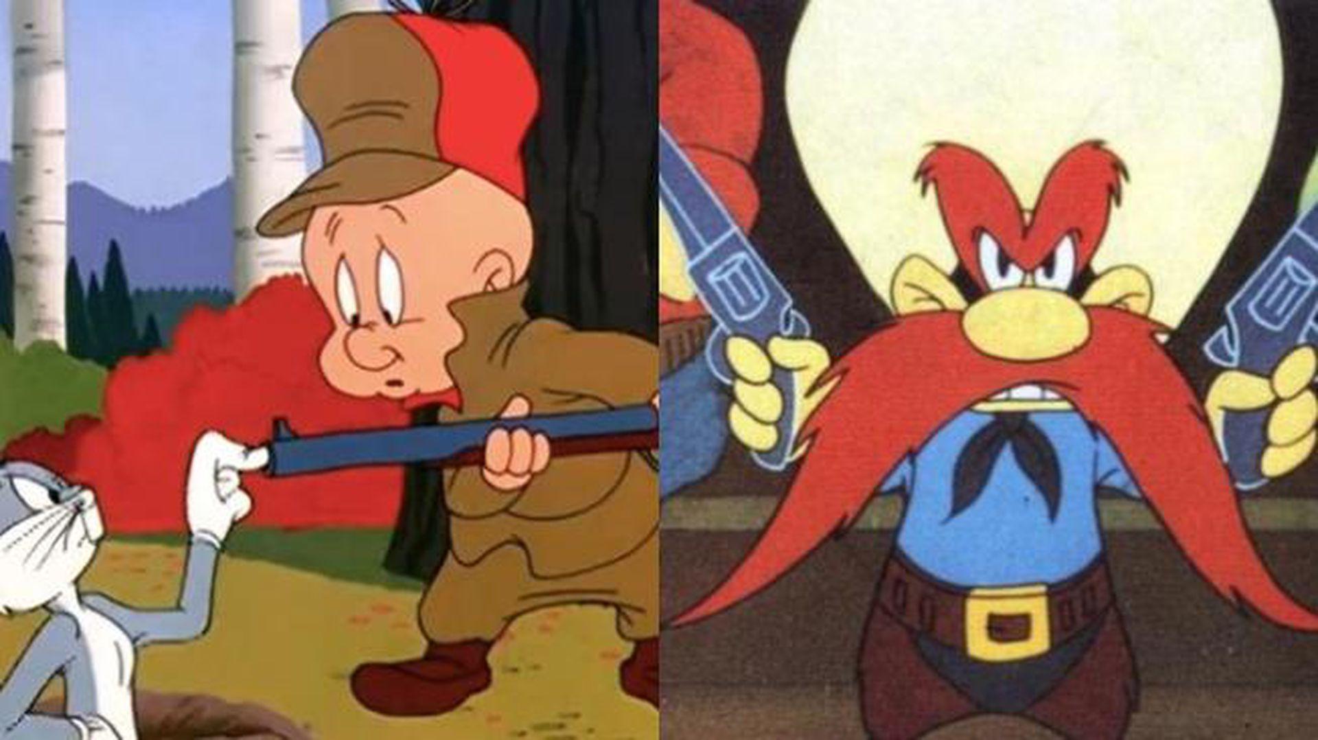 Bugs Bunny y sus eternos adversarios, Elmer Gruñón y Sam Bigotes