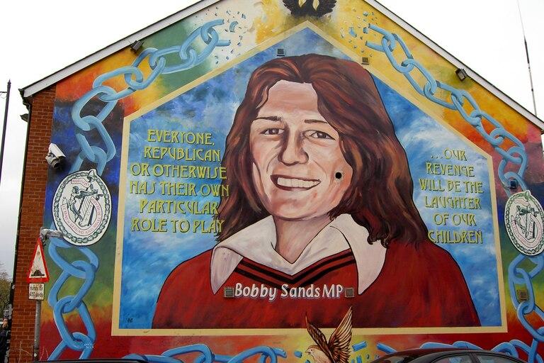 La muerte de Bobby Sands debido a su huelga de hambre le convirtió en un mártir de la causa del IRA y del Sinn Fein