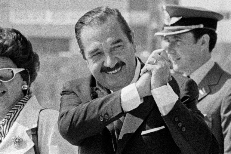 Raúl Alfonsin.