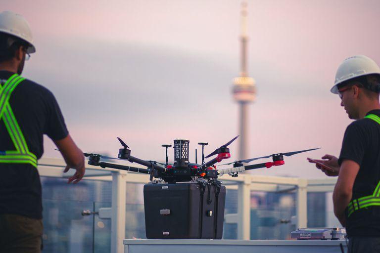 El dron realizó un trayecto de 1,5 km en 6 minutos para llevar los órganos donados entre dos hospitales