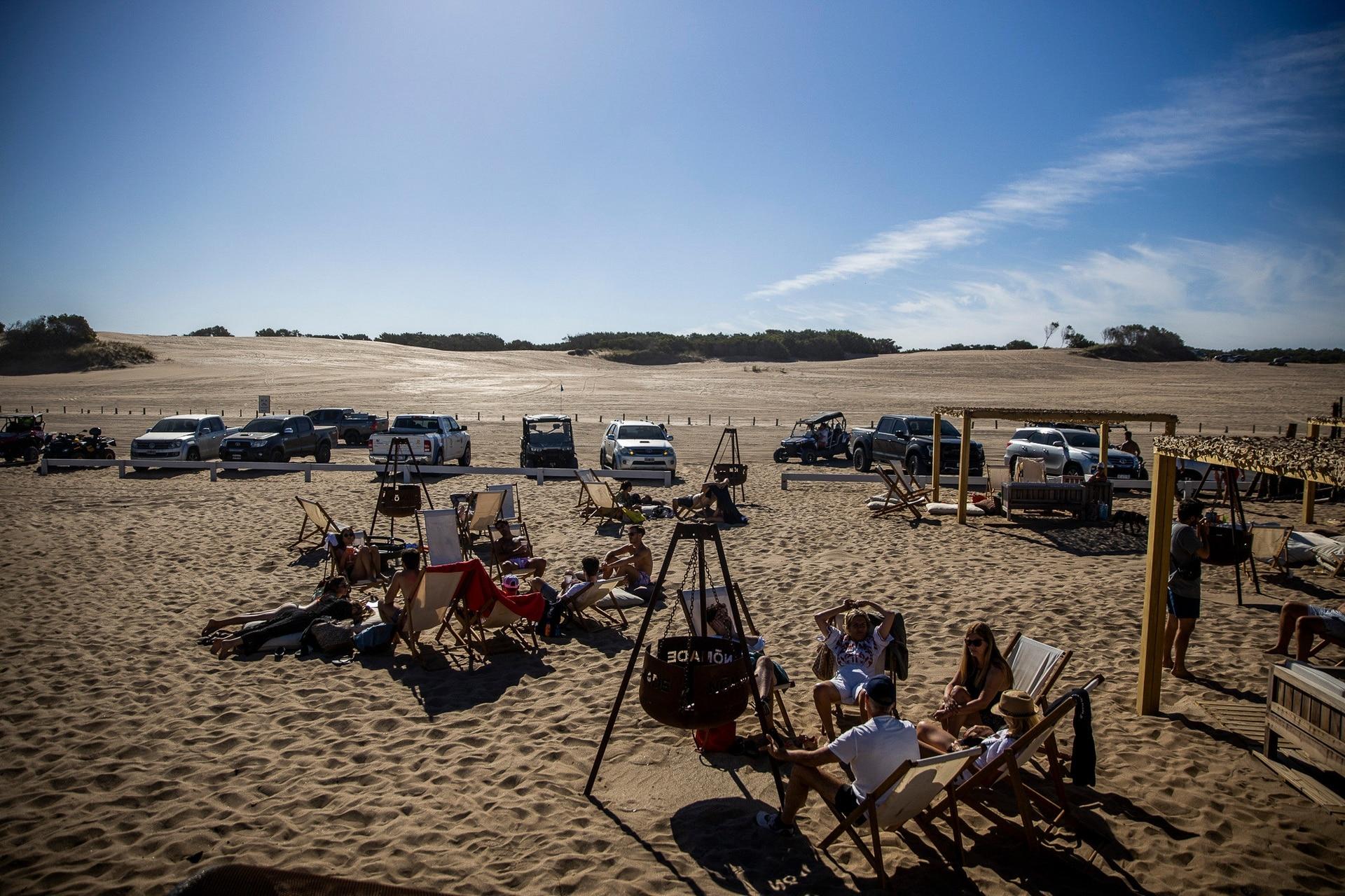 Nómade, el parador de Reneta Beach en el norte de Pinamar