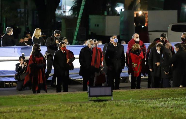 Fuertes protestas en Salta, en rechazo a la visita del Presidente