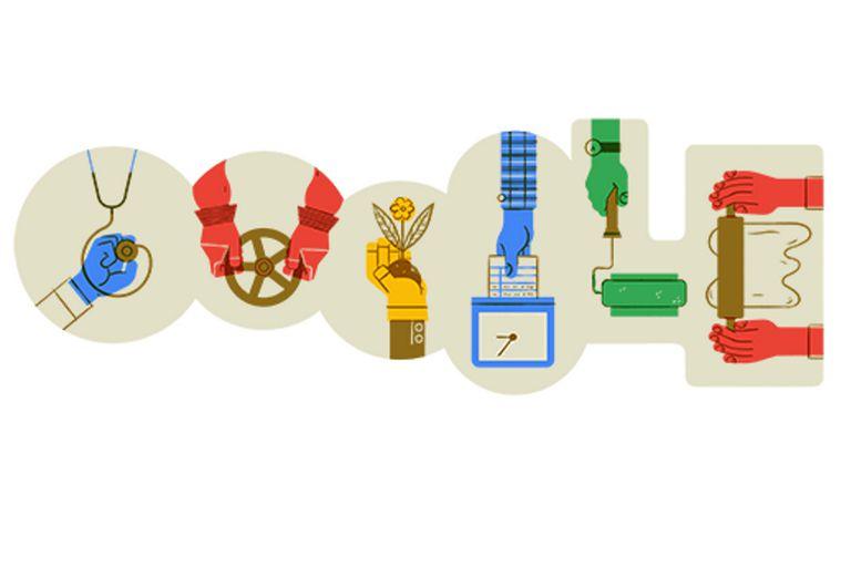 El doodle que compartió el gigante de Internet