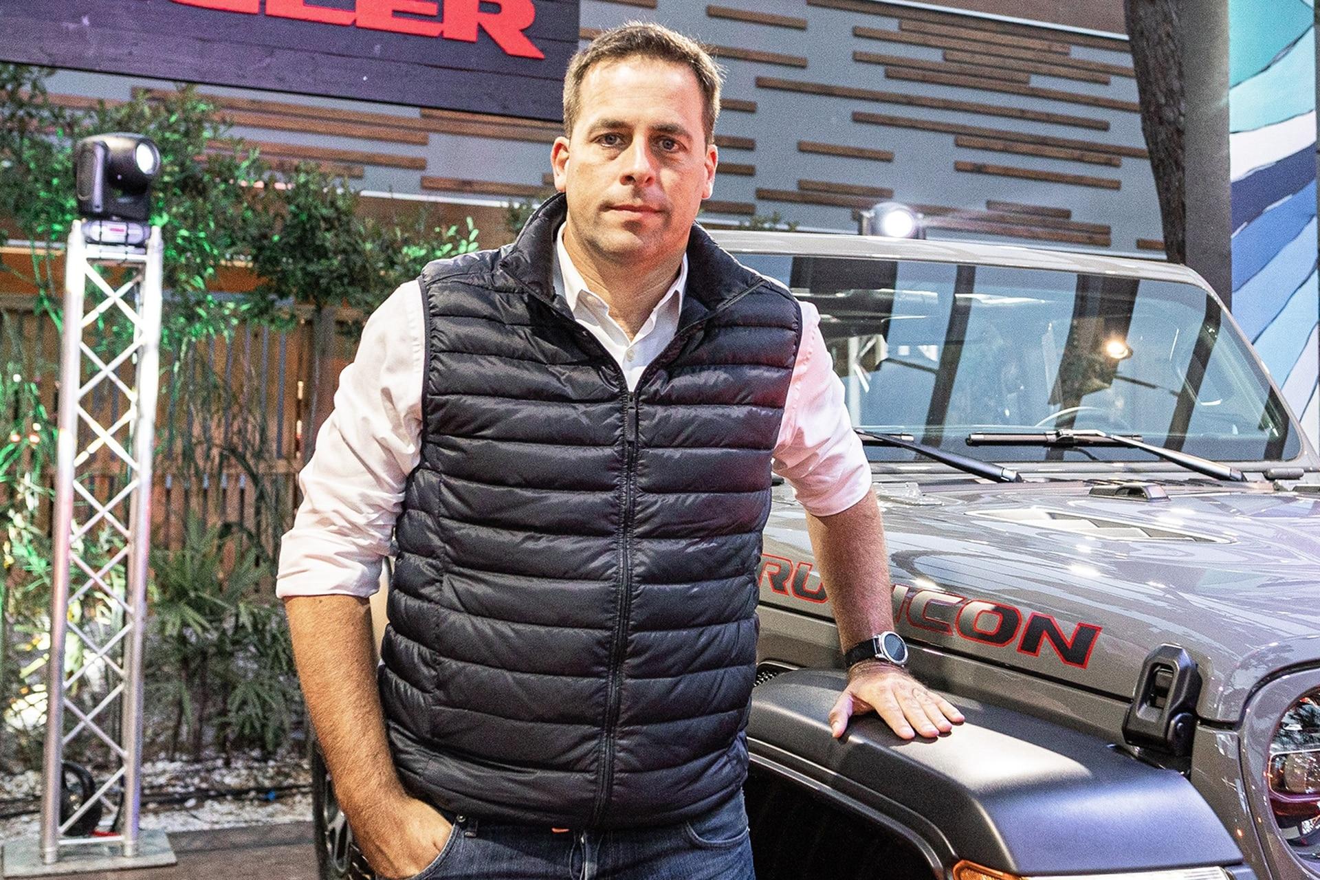 Martín Zuppi, director general de Fiat Chrysler Automobiles
