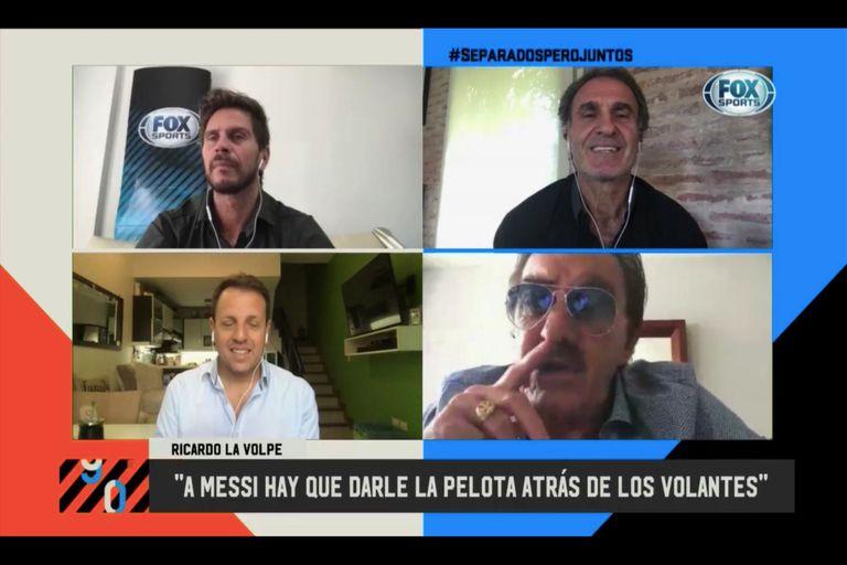Argentina '78 vs. Argentina '86: la polémica que reeditaron La Volpe y Ruggeri
