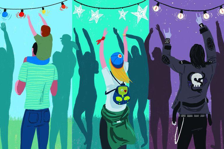 Elige tu propio Lollapalooza. 9 recorridos para disfrutar el festival