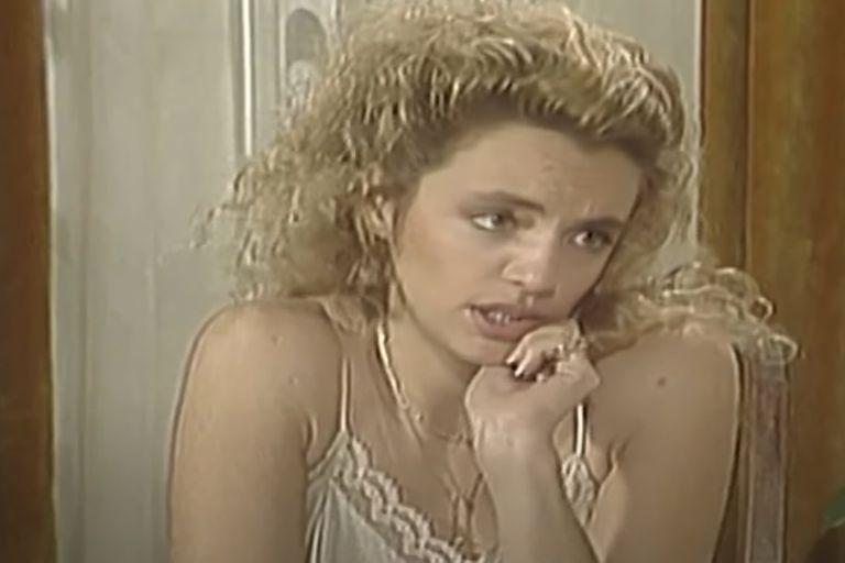 Adriana Basualdo, en sus tiempos de televisión