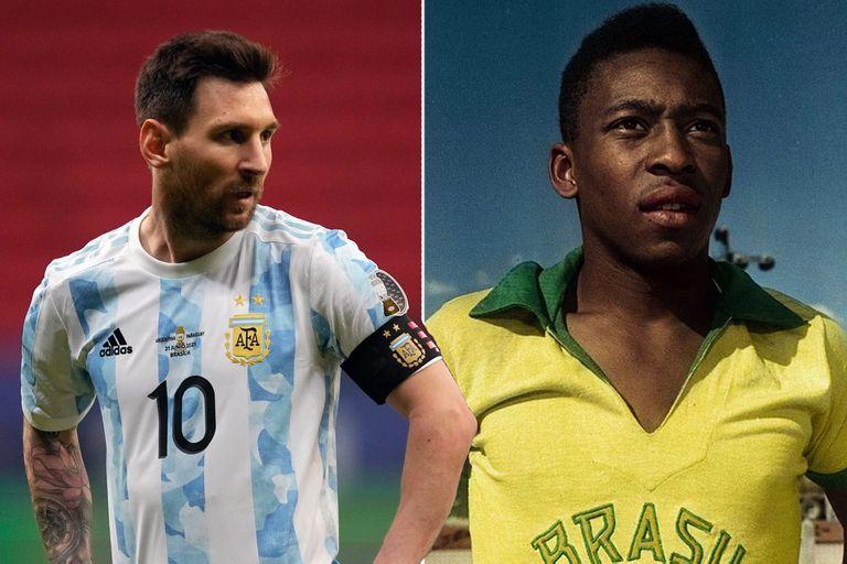 La marca histórica de Pelé que superó Messi con su triplete a Bolivia