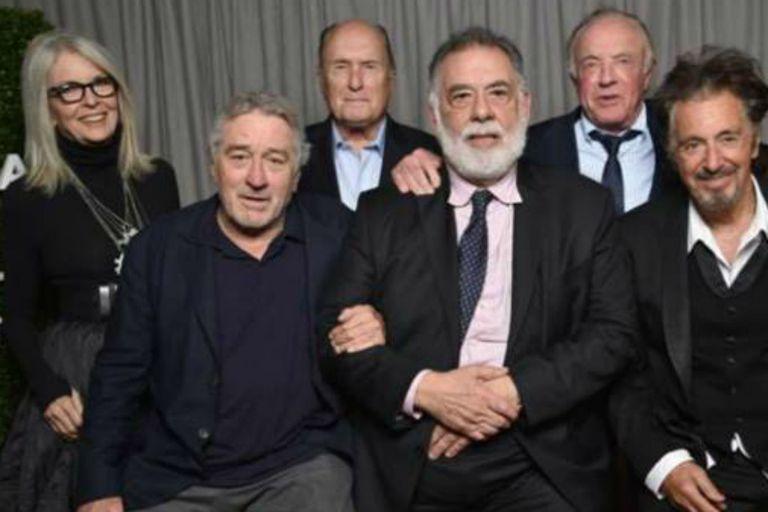 Diane Keaton y Al Pacino, reunidos por el aniversario de El padrino
