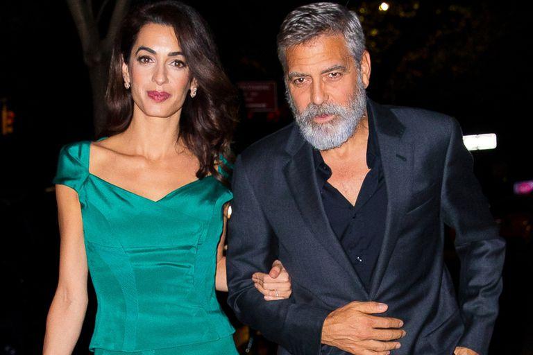 """Por qué George Clooney le """"prohibió"""" a su esposa que mire una de sus películas"""