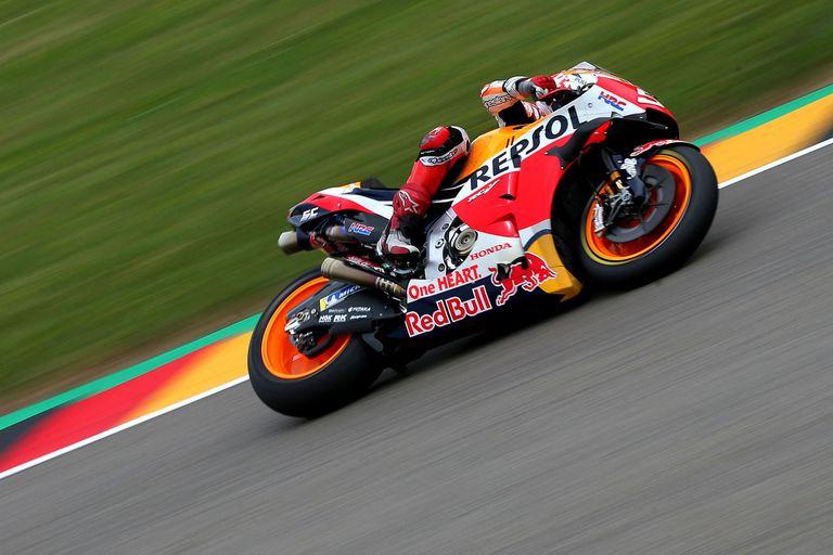 Marc Marquez volvió a ser el hombre dominante de Honda