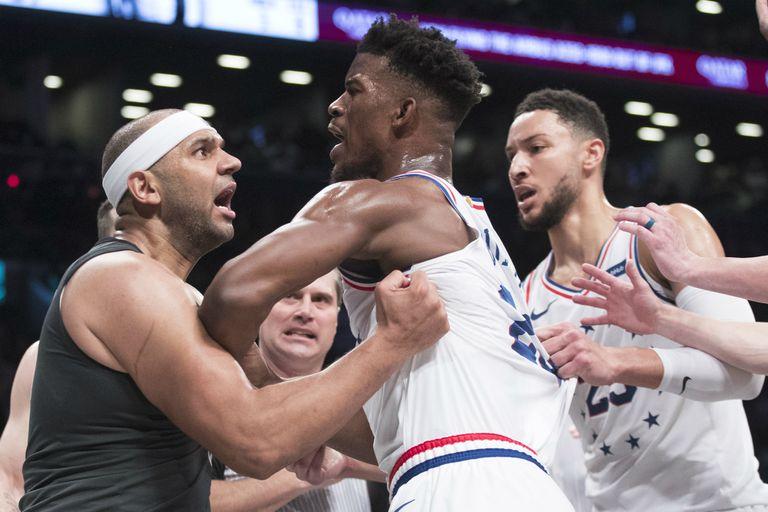 Peleas y polémicas: la picante serie de la NBA entre Philadelphia y Brooklyn