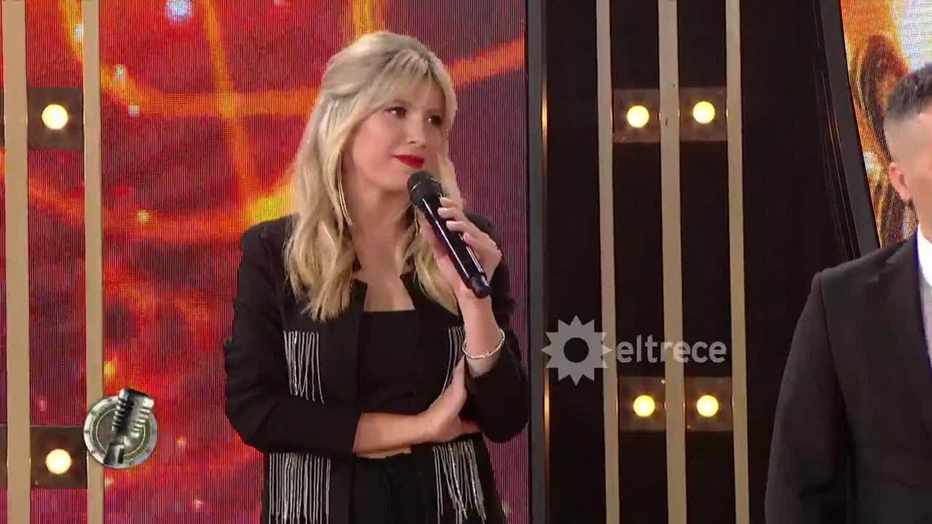 Laurita Fernández fue una de las conductoras de Cantando por un sueño en 2020, junto a Ángel De Brito