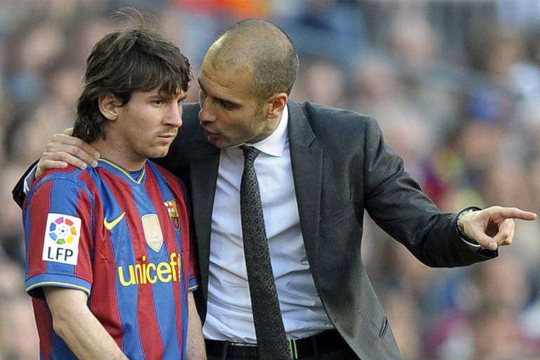 Guardiola fue como un padre joven con un Leo Messi explosivo, genial