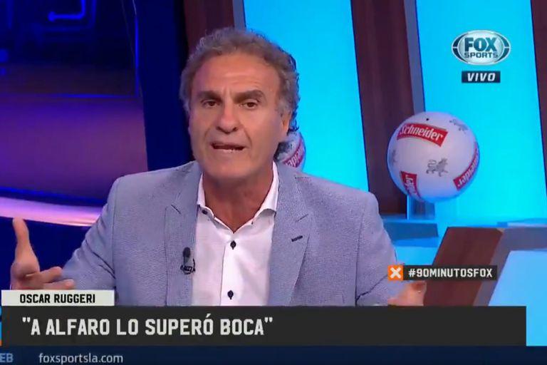 Con respeto, Oscar Ruggeri fustigó la labor de Alfaro en Boca