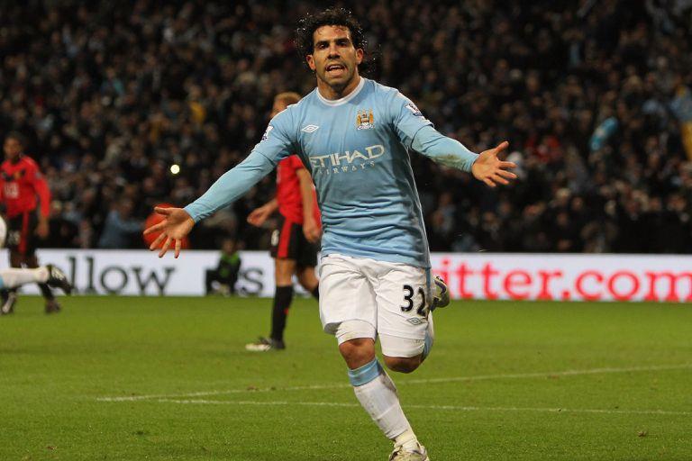 Carlos Tevez en el ranking de jugadores mejores pagos en la historia de la Premier League