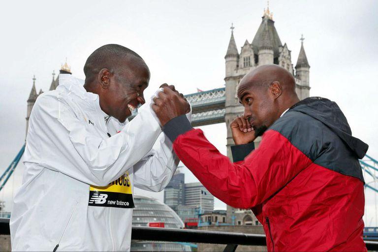 Maratón de Londres: El gran duelo Kipchoge-Farah, con Andy Murray en la largada