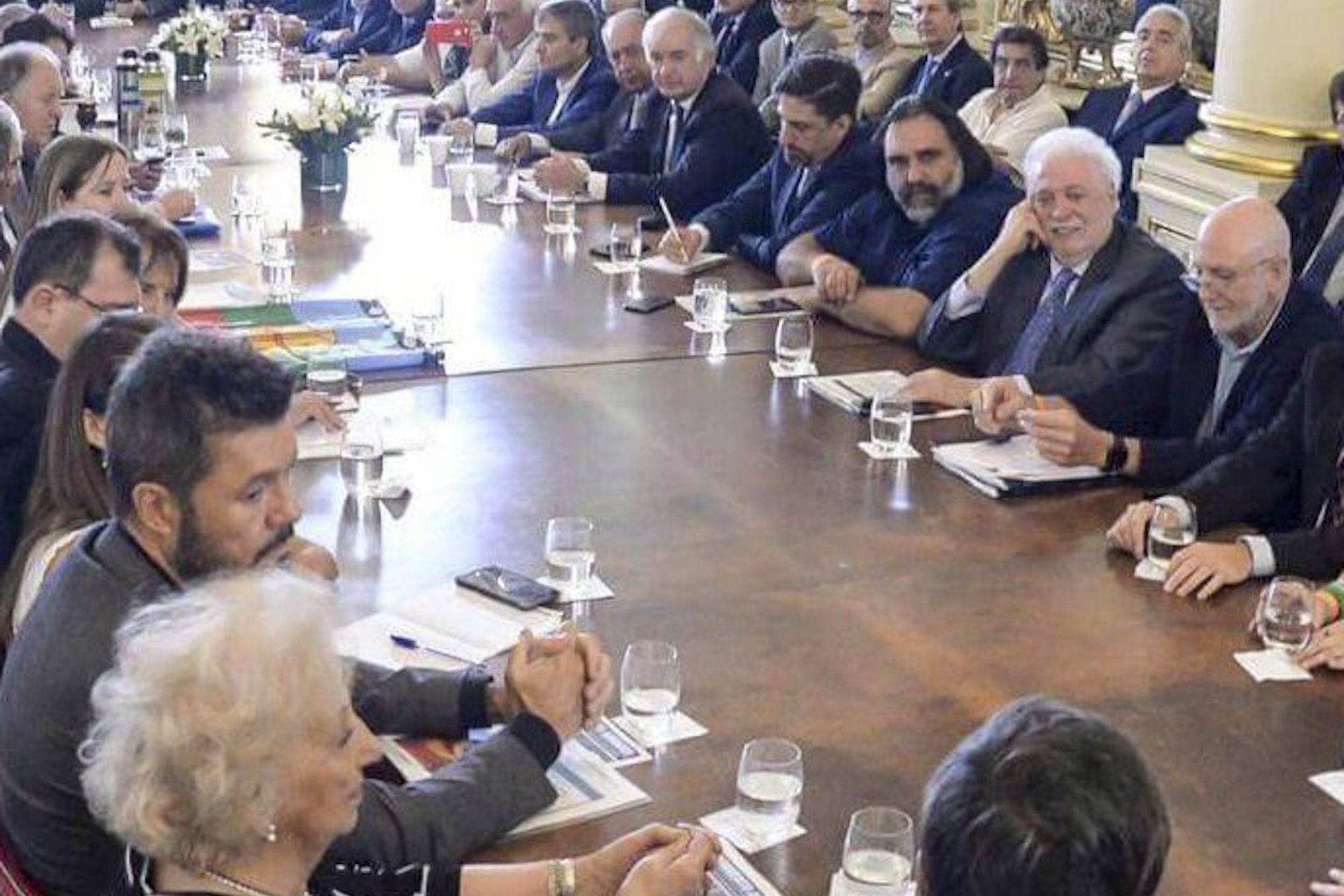 La Mesa contra el Hambre se anunció en el inicio del Gobierno