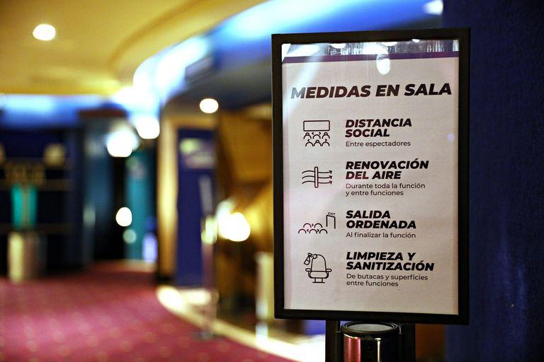 Cumpliendo con los protocolos correspondientes, reabrieron las salas de cine en la Ciudad de Buenos Aires