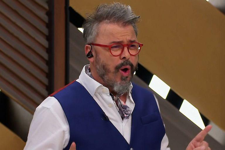 Donato De Santis llamó la atención por su curiosa decisión estética en la final de MasterChef Celebrity