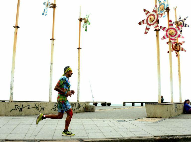 Oscar Galíndez fue el mejor argentino en el Ironman de Mar del Plata