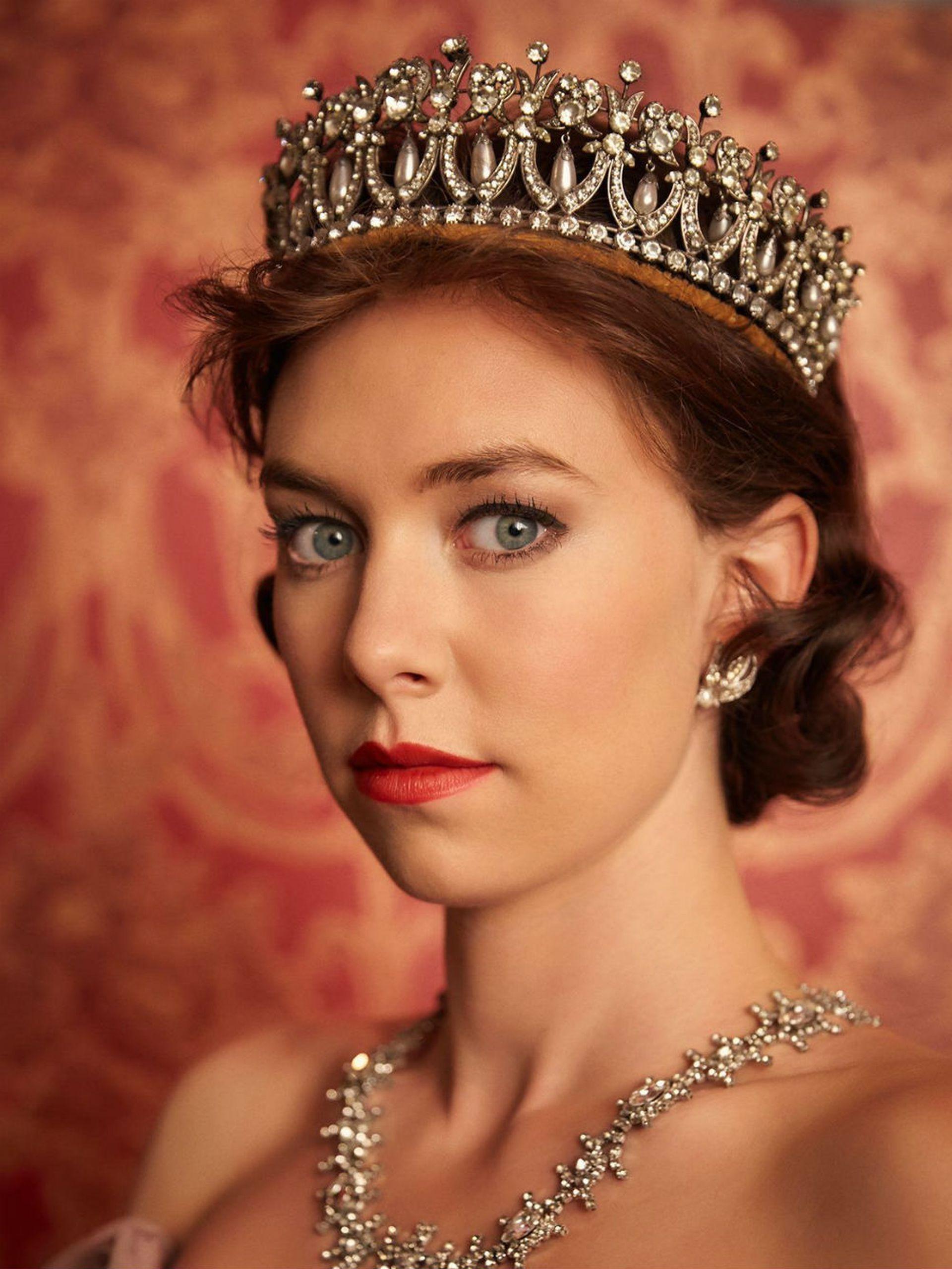 Como la Princesa Margarita en The Crown