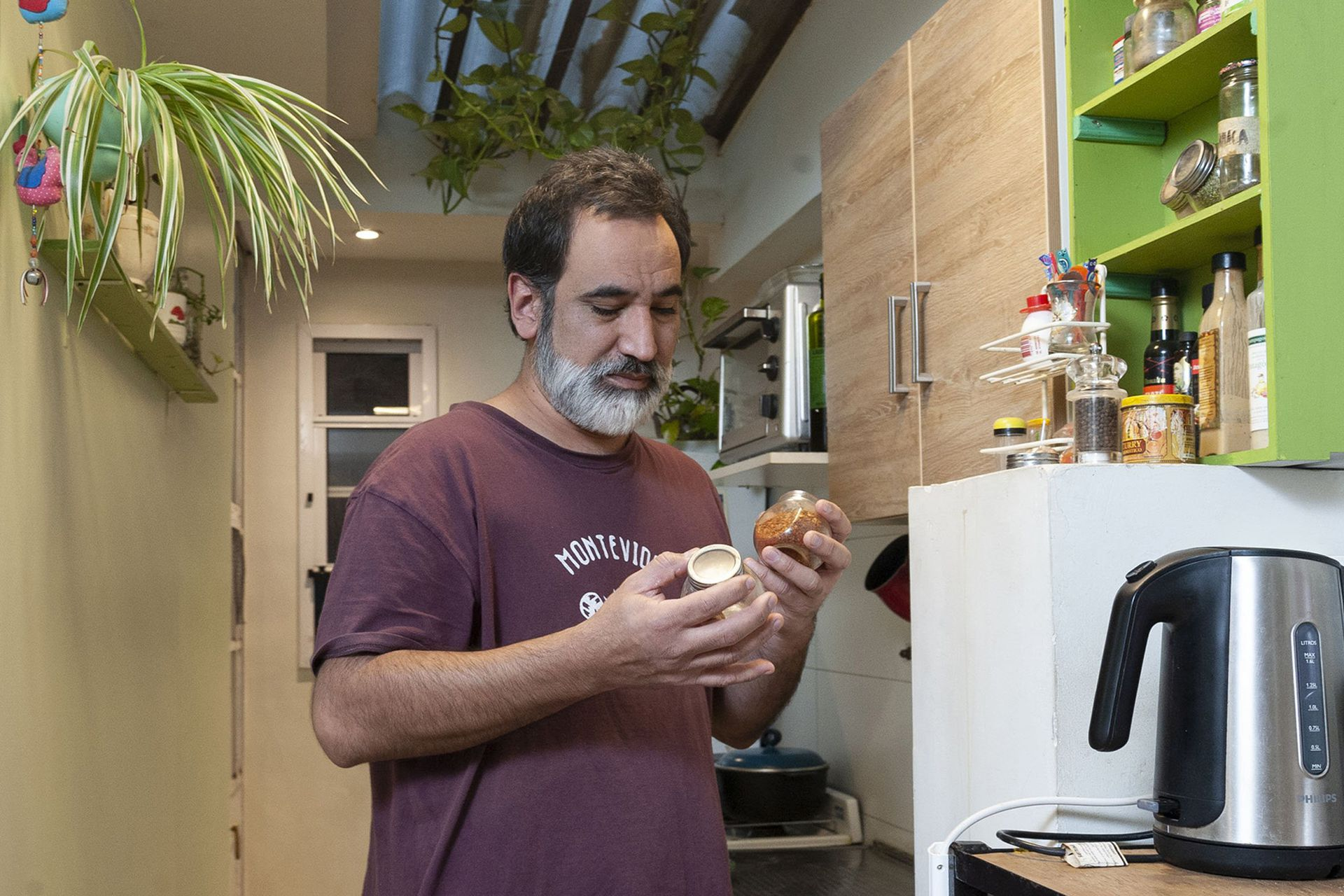 """Una de las primeras cosas que volvió a oler Juan Medina fue la sopa, """"un aroma de infancia"""""""