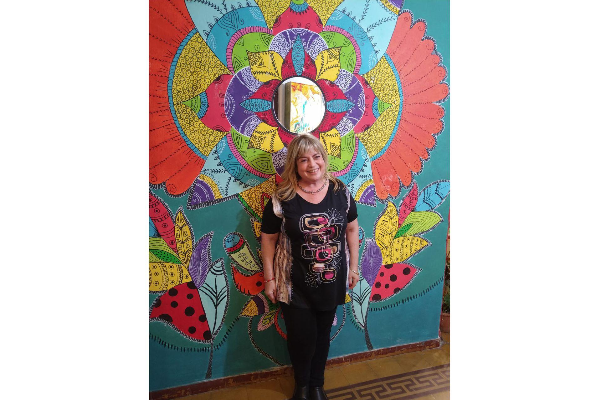 Tamara Sternberg tiene dos librerías en Córdoba que ya volvieron a abrir, pero con mucho menos movimiento que antes de la pandemia