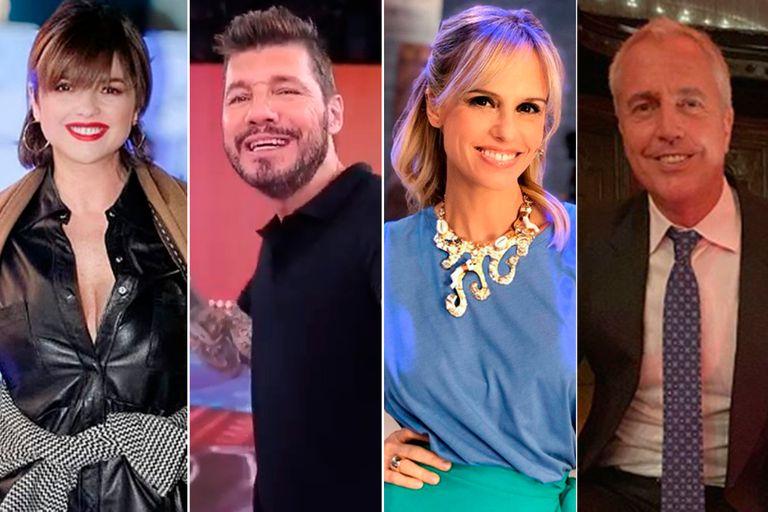 Araceli González, Marcelo Tinelli, Mariana Fabbiani y Marley son algunos de los famosos que expresaron sus buenos deseos en las redes sociales