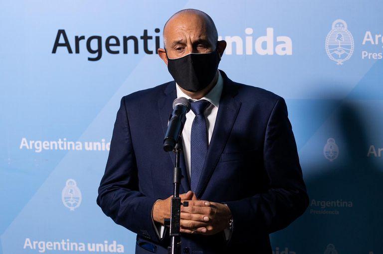 El ministro de Transporte, Alexis Guerrera, fue quien convocó a la reunión