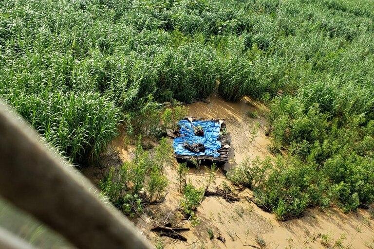 The rescue operation in the Bermejo River