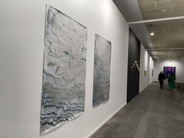 Dos obras de la argentina Jimena Croceri en el espacio dedicado al arte latinoamericano
