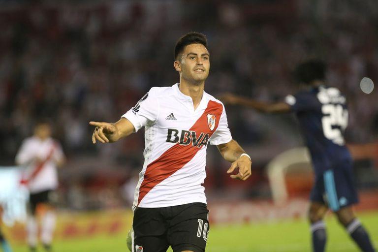 Pity Martínez convirtó un golazo que definió el partido