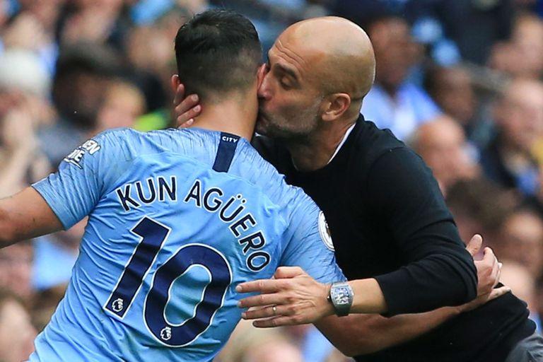 Pep Guardiola tiene una muy buena relación con el Kun Agüero, pero advirtió que para formar el equipo que jugará la final de la Champions, tomará la decisión con frialdad