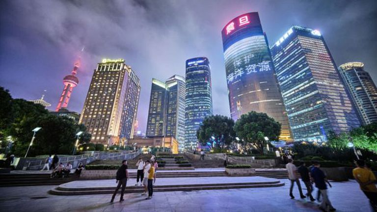 Así se ve hoy Shanghái, la capital económica de China
